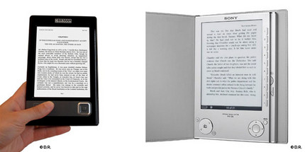 liseuses Sony Reader, Kindle etc. : les « liseuses »