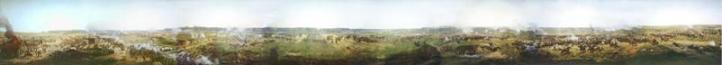 Battle of Borodino part of panorama by Franz Roubaud Borodino, la plus affreuse des batailles | Battle Borodino, dossier | Бородинское сражение, досье